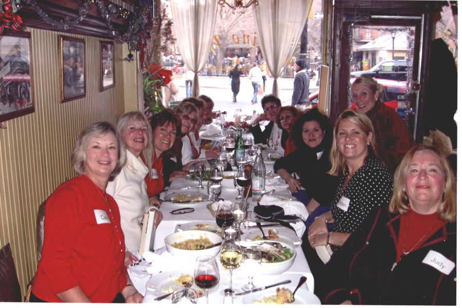 Luncheon with Adriana Trigiani at Valdino's Restaurant in New York City