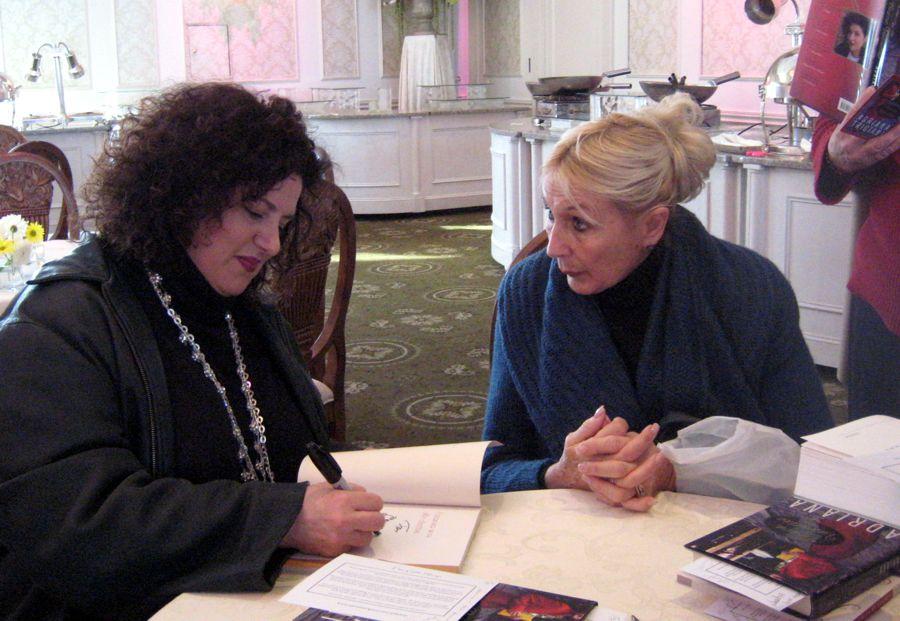 Book signing with Adriana Trigiani, BRAVA VALENTINE